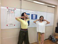 視力向上ヨガベーシックインストラクター養成講座を受講しました。竹本智子さんからの投稿です。